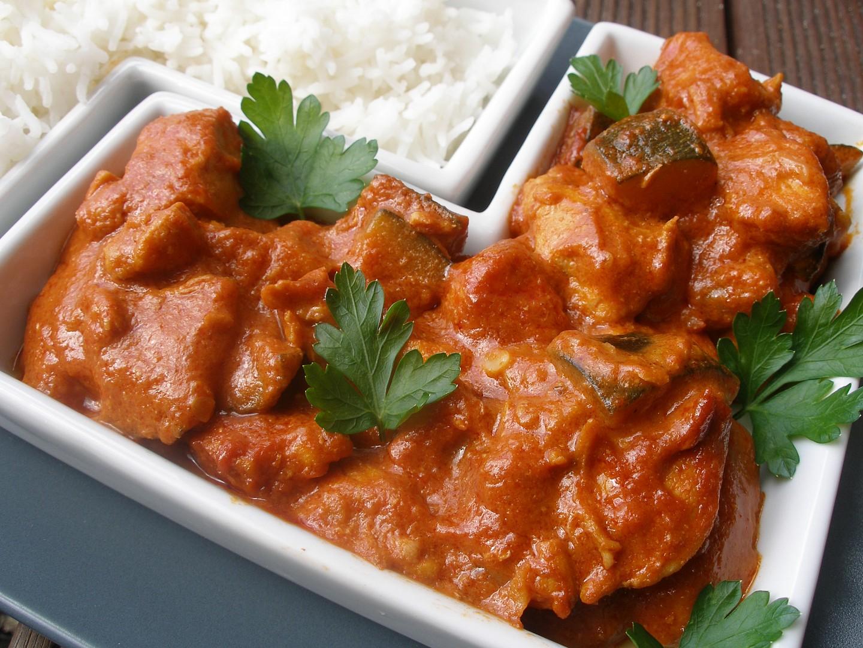 Červené kuřecí curry kostky