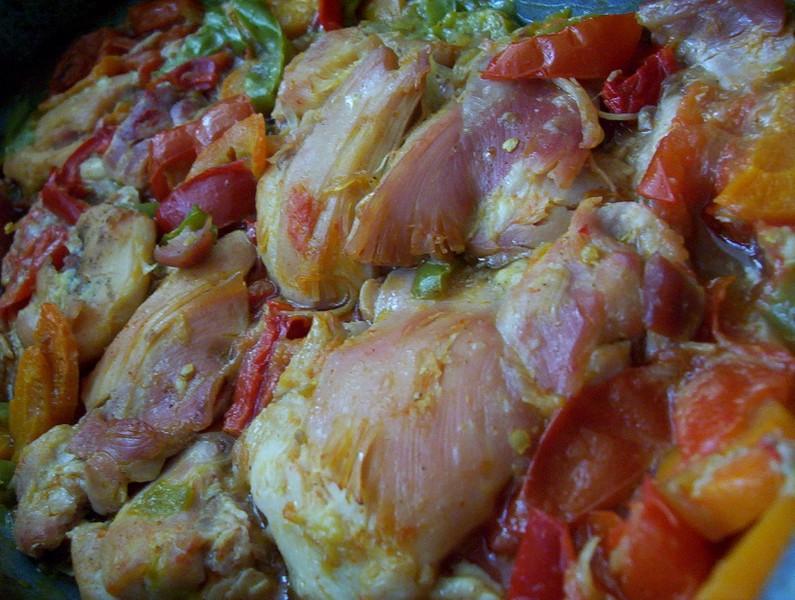 Dietní kuřecí na zelenině