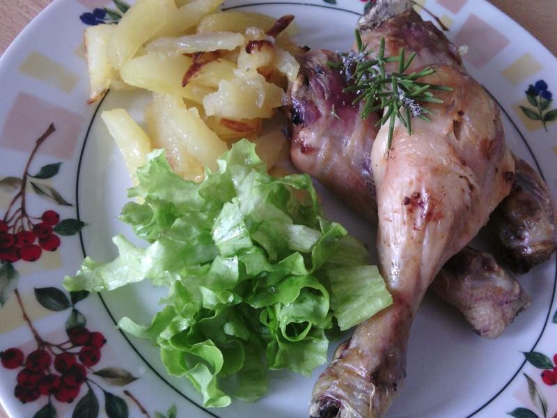 Dietní kuřecí stehýnka