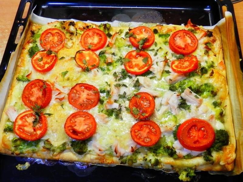 Dietní pizza