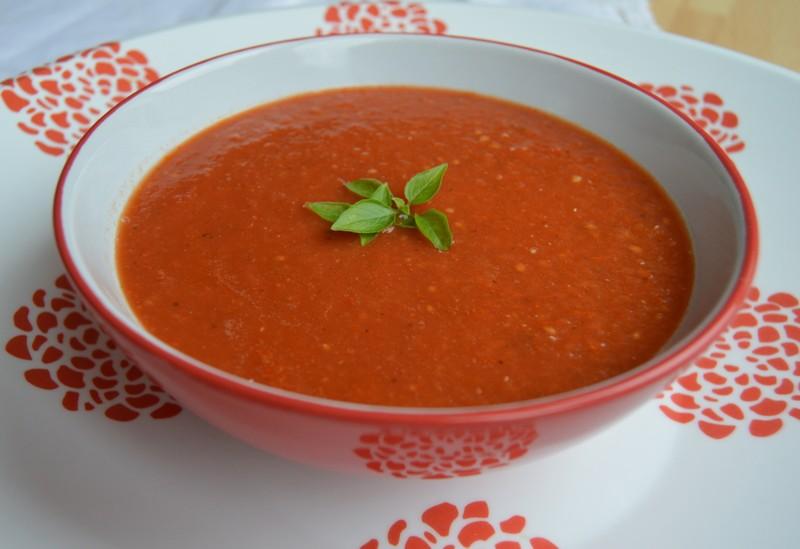 Dietní rajčatová polévka