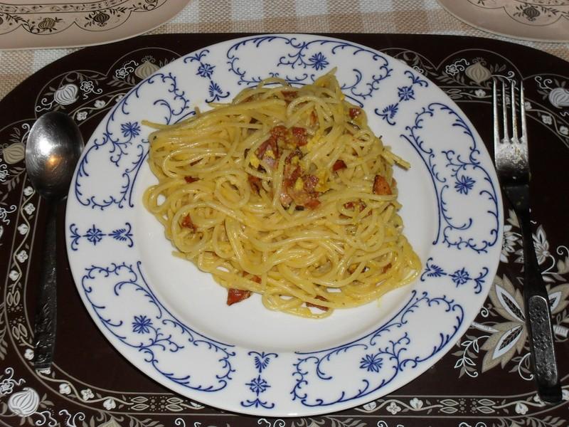 Dietní uhlířské špagety