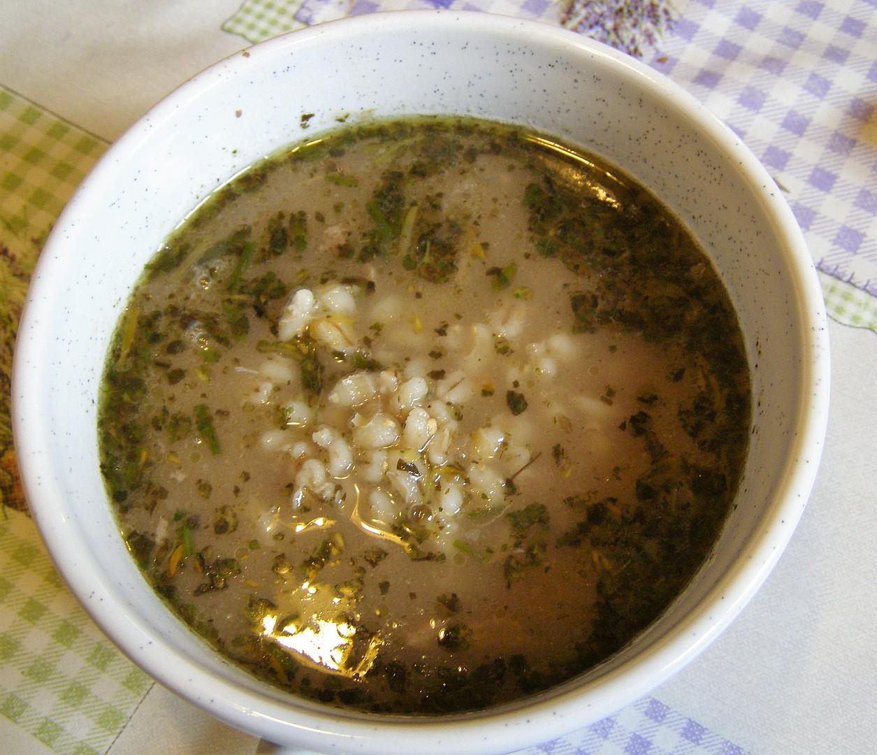 Falešná zabíjačková polévka