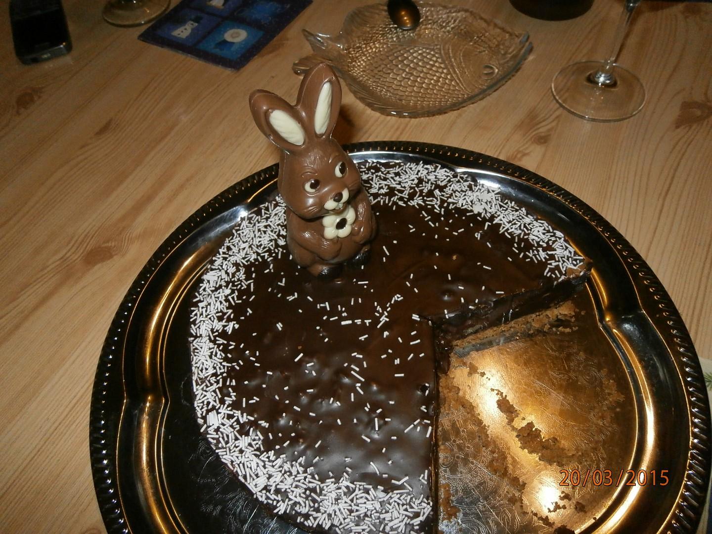 Francouzský čokoládový dort