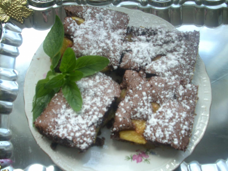 Kakaová bublanina bez mouky