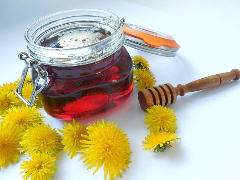 Klasický pampeliškový med