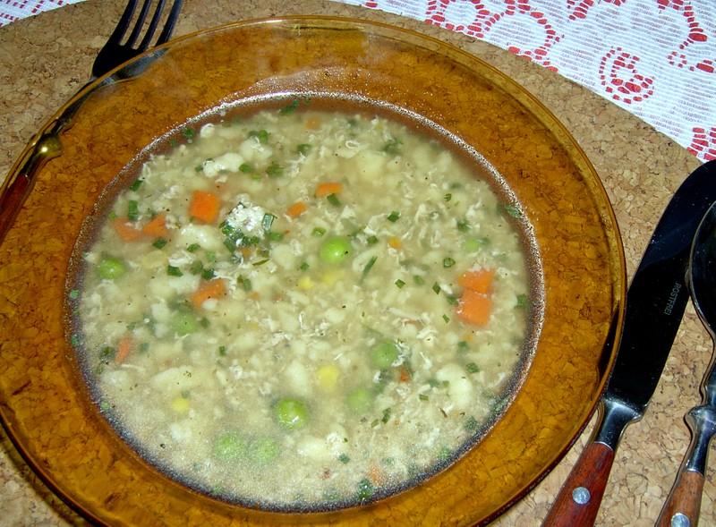 Krůtí polévka