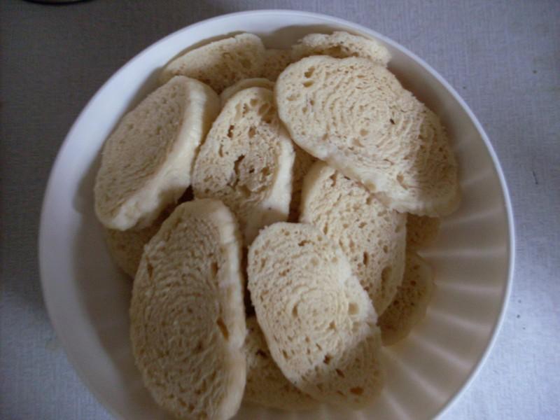 Kynutý houskový knedlík v domácí pekárně