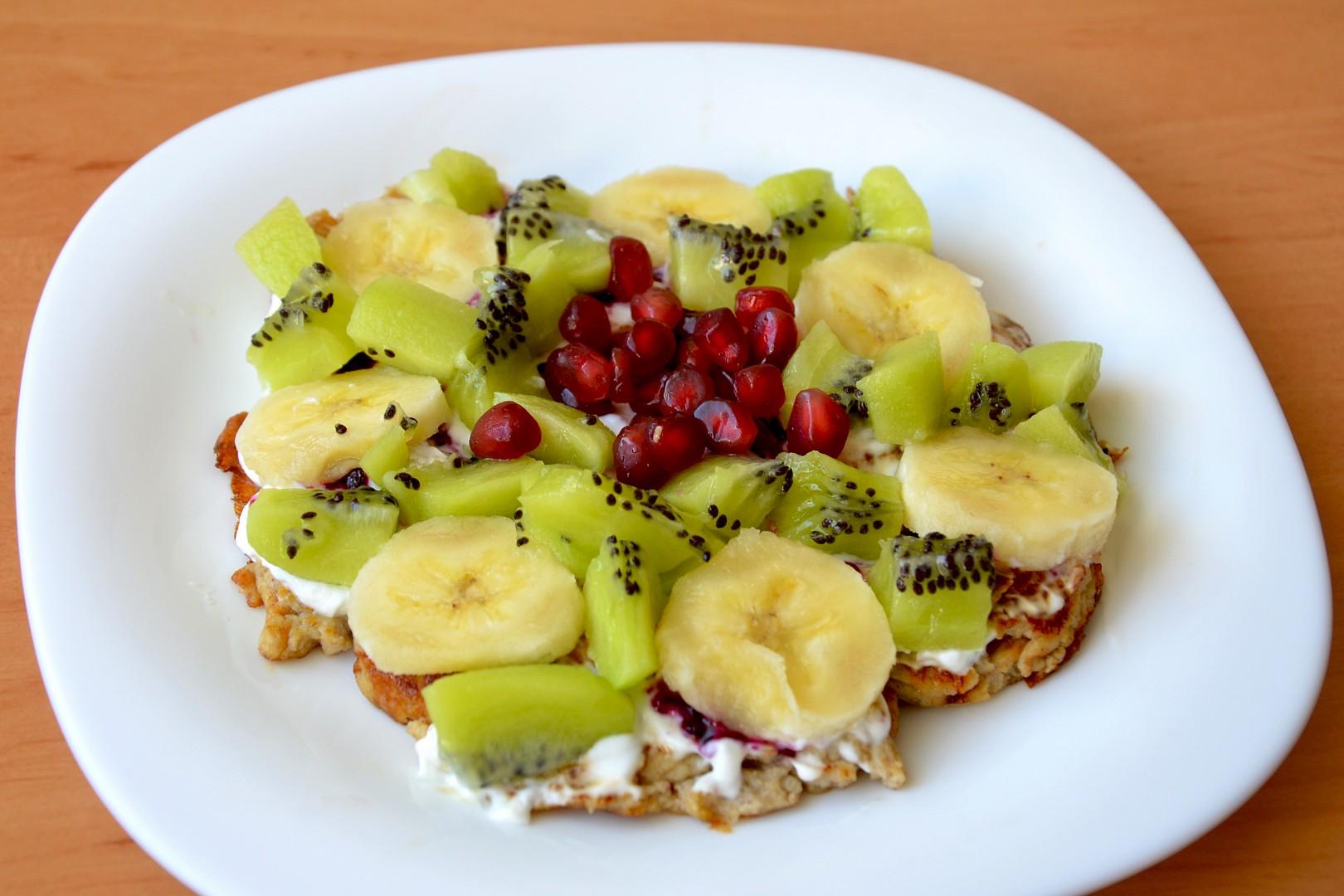 Lehká letní snídaně s příchutí banánu