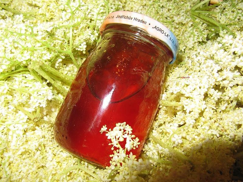 Med (sirup) z květů černého bezu