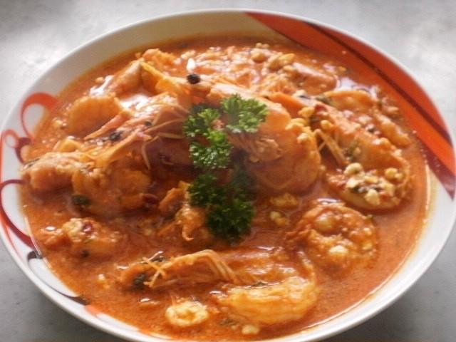 Řecké krevety saganaki