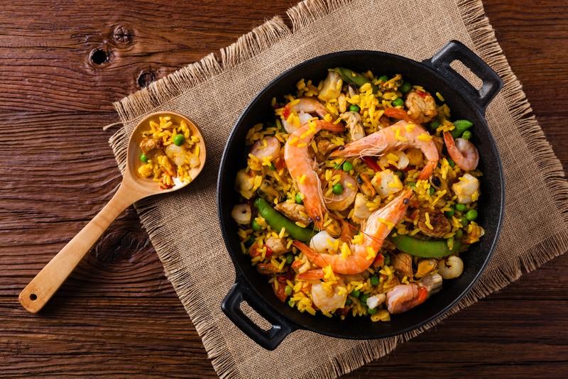 Španělská paella