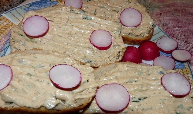 Sýrová pochoutková pěna z 5 druhů sýrů