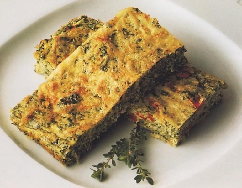 Sýrový koláč se zeleninou