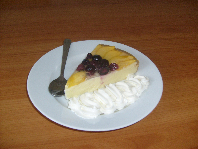 Tvarohový dort bez mouky