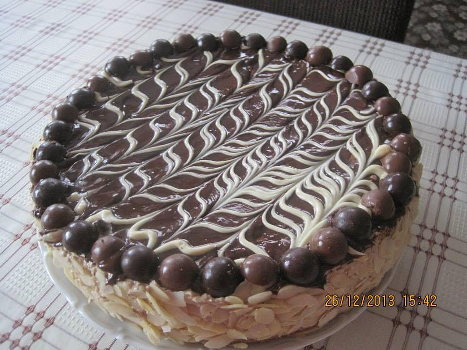 Vánoční mocca dort