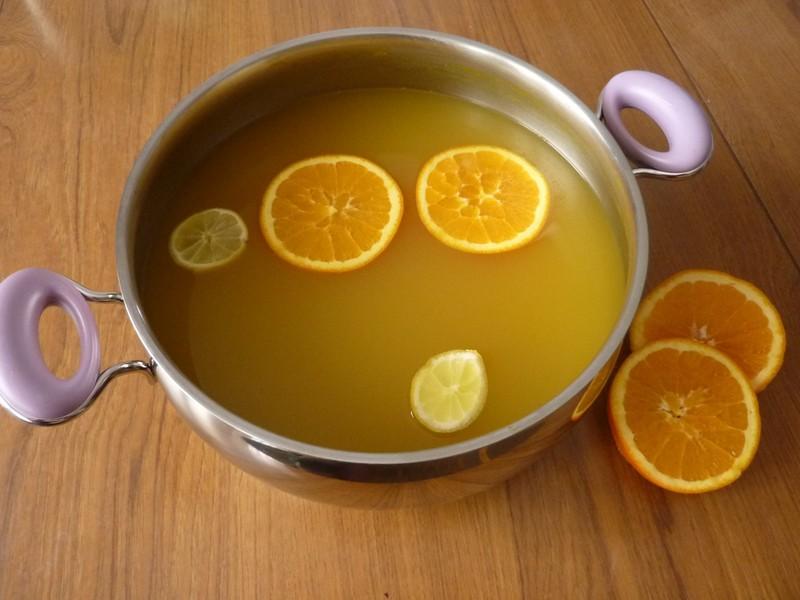 Zázvorová limonáda proti nachlazení